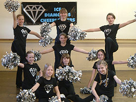 Ice Diamond Cheerleaders