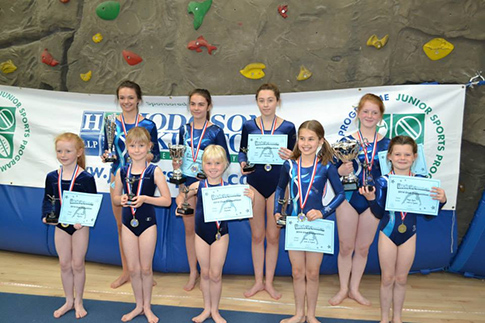 Record number of gymnasts enter competition