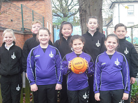 Mount School netball team