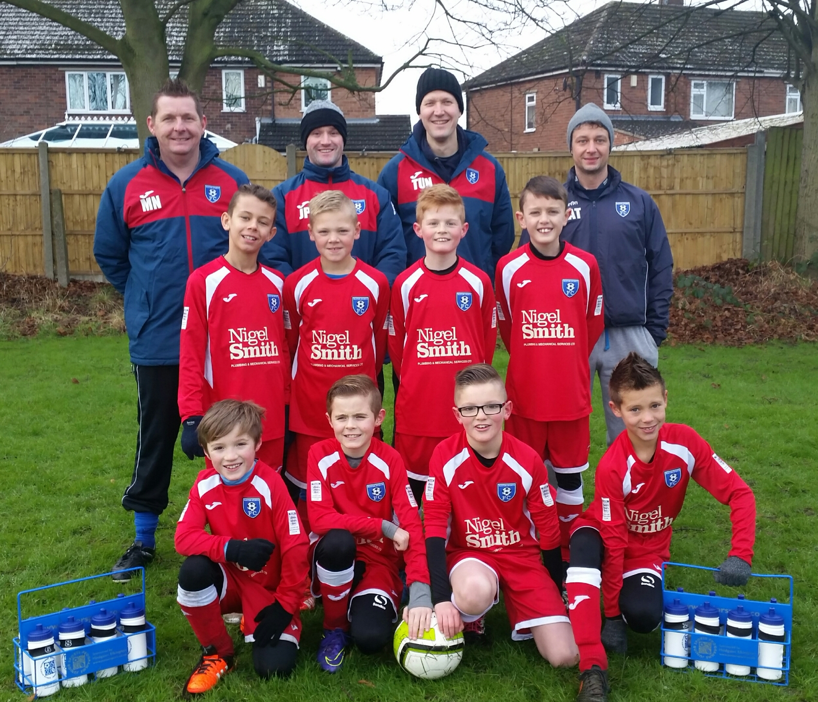 Ruston Under 10's Football Team