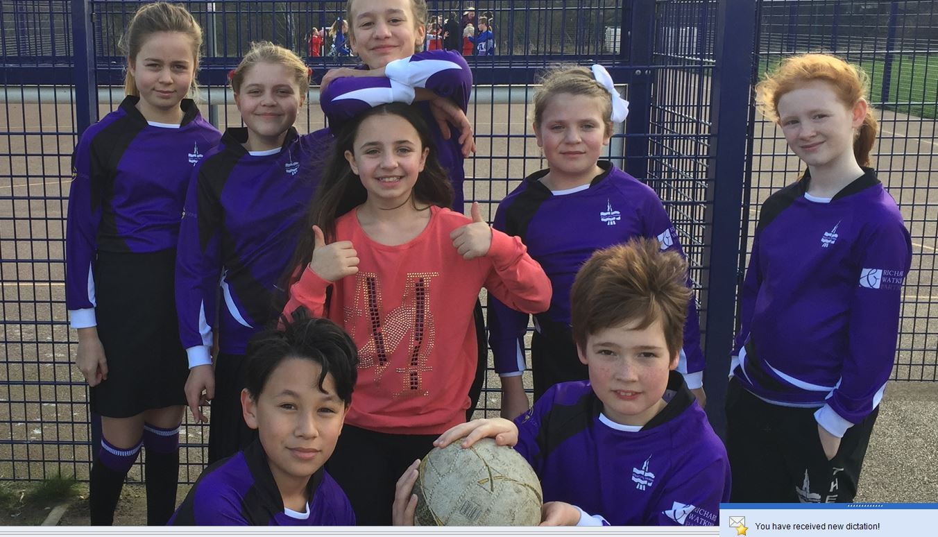 The Mount School Netball Team