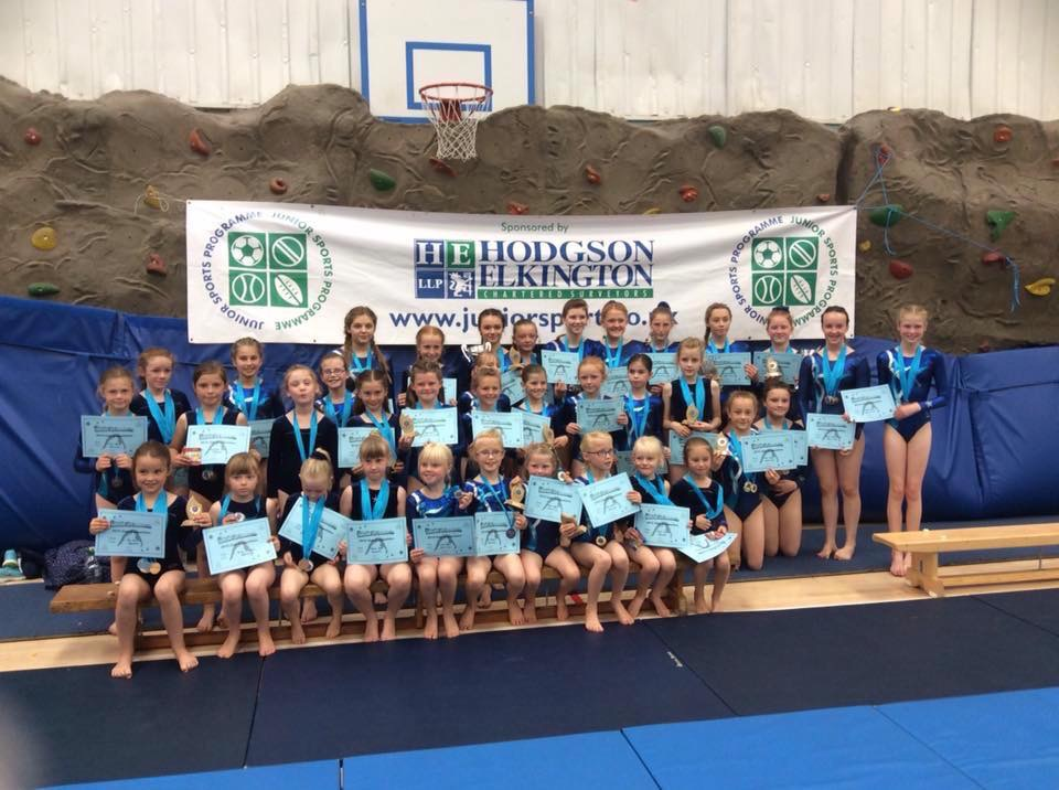 Lincoln City Gymnastics Annual Club Competition